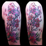 Cherry Blossom Tattoo by Jessi Lawson minneapolis female tattoo artist