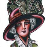 hatgirlprint